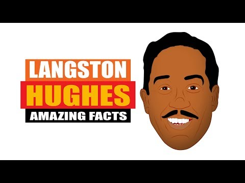Who is Langston Hughes | Fun Facts for Kids | Black History Month Videos for Students