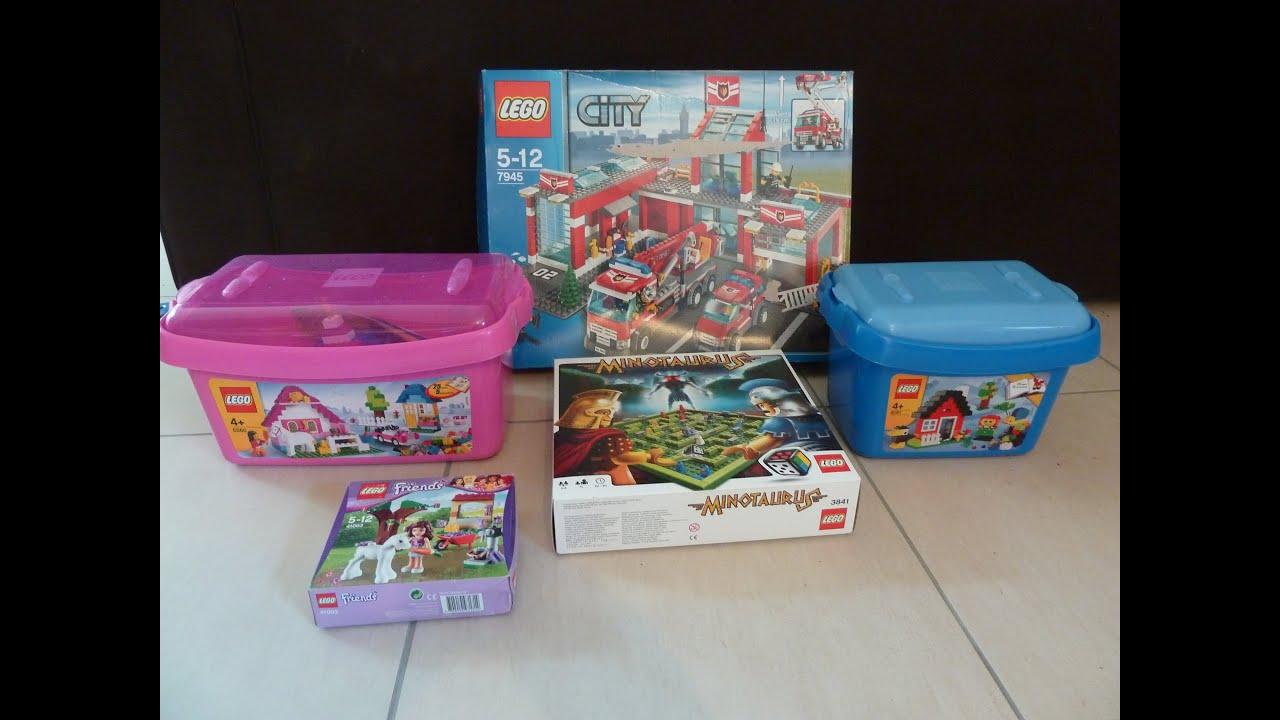 Sale On Legos Lego Haul Na07 Garage Sale 29 06 2014 Youtube