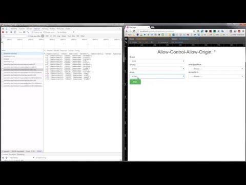 Hacks XMLHttpRequest over CORS  - Allow-Control-Allow-Origin: *
