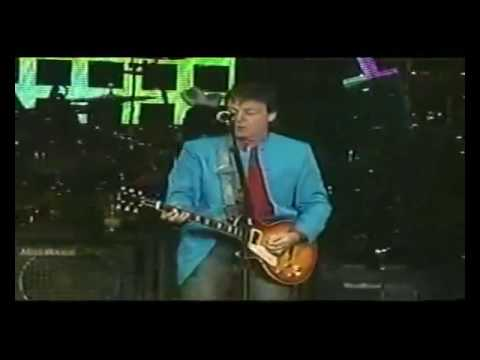 The Beatles  You Won't See Me [live, Madrid '2004].wmv