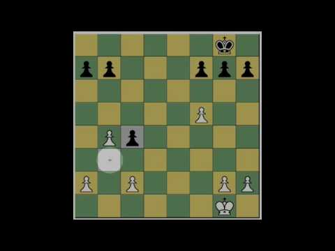 "The ""en passant"" chess move"