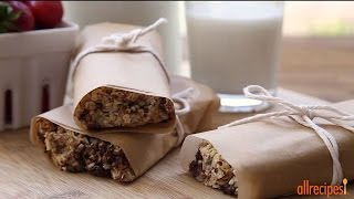 Healthy Snack Recipes - How To Make Easy Granola Bars