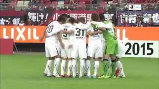 ナビスコカップ準決勝第2戦 鹿島アントラーズ×ヴィッセル神戸のハイライ...