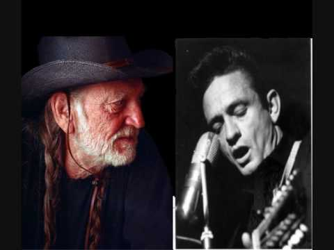 Johnny Cash Willie Nelson  Ghost Riders In The Sky