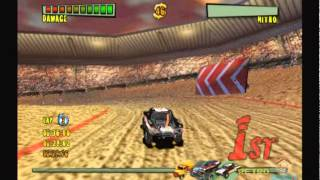 Monster Trux Extreme Arena Edition PS2 gameplay [ Phoenix Games ] 720p