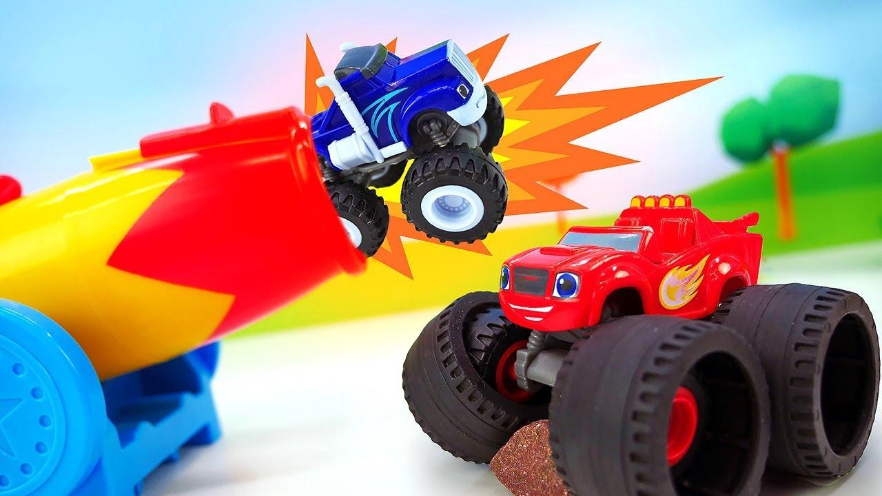 Вспыш, чудо машинки и самолетики супер-крылья. Игрушки для ...