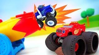 Вспыш, чудо машинки и самолетики супер-крылья. Игрушки для мальчиков. Новые проделки Крушилы