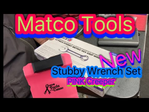 Matco Tools New Stubby Extractor Wrenches