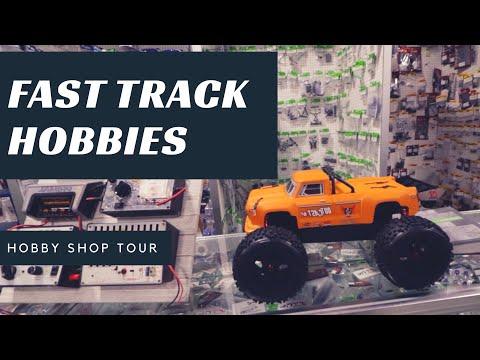 Hobby Shop Tour - Fast Track Hobbies - Rocklin, California - Episode 1