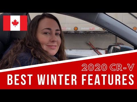 2020 Honda CR-V Best Features For Canadians