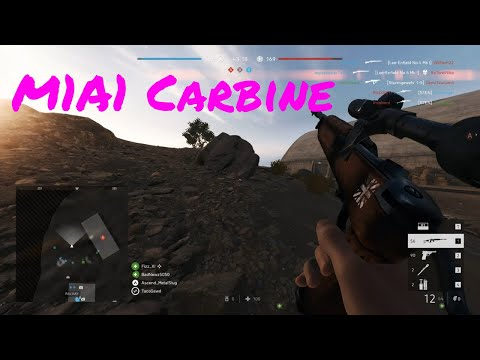 Battlefield 5 | M1A1 Carbine Assault Gameplay