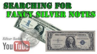 Searching Silver Certificates for Fancy Serial Numbers!
