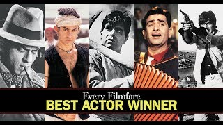 Every Filmfare Best Actor (Male) Winner Ever (1953-2017)