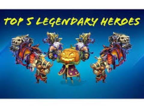Top 5 Best Heroes In Castle Clash