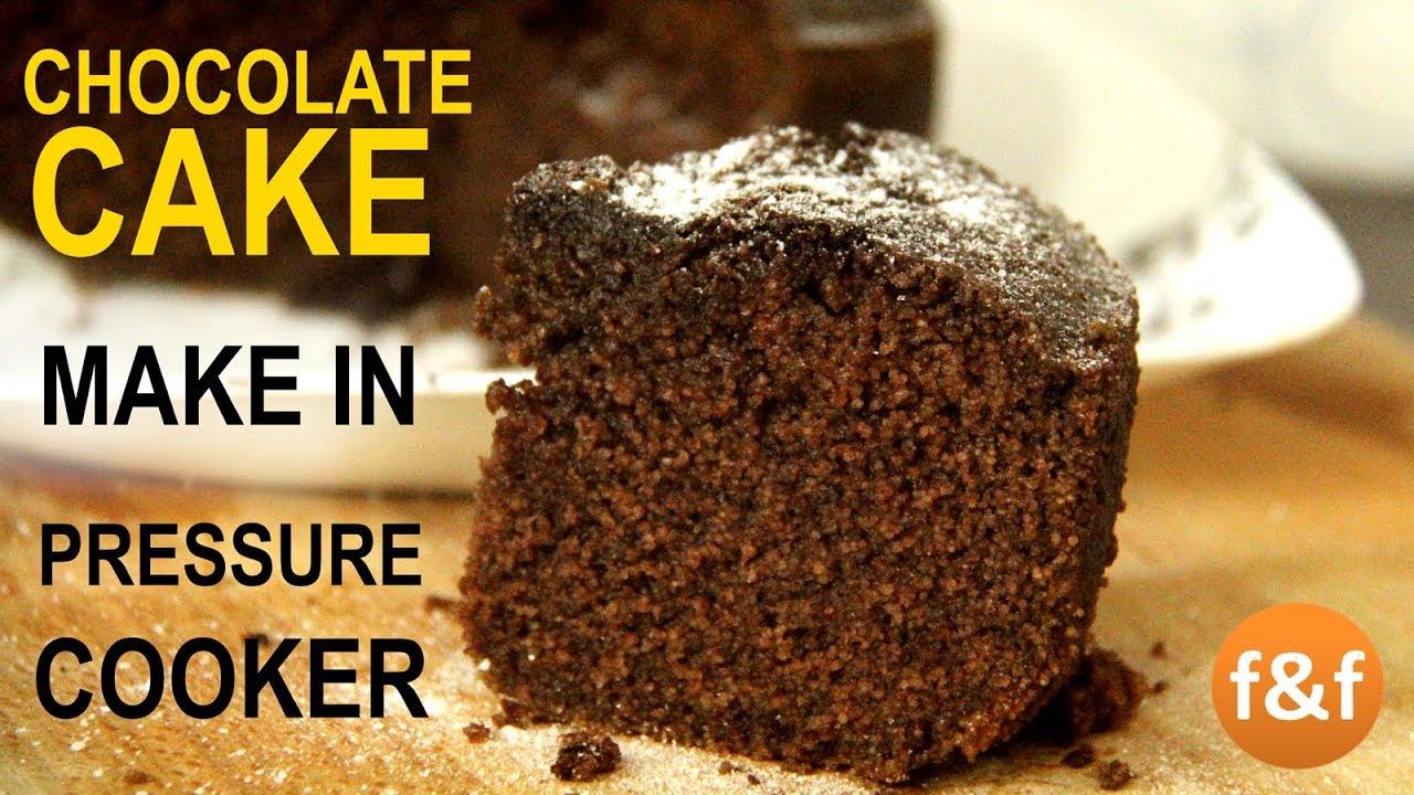 Cake Making In Pressure Cooker Malayalam: Chocolate Cake In Pressure Cooker