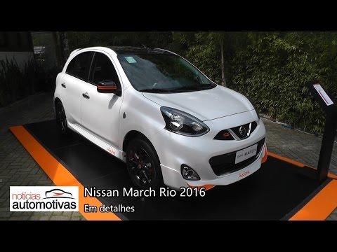 VÍDEO: Nissan March Rio 2016 em detalhes