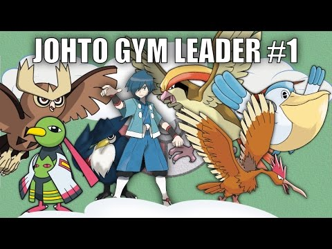 Johto Gym Leader #1 (Falkner) - Pokemon Battle Revolution (1080p 60fps)