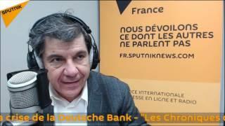 La crise de la Deutsche Bank