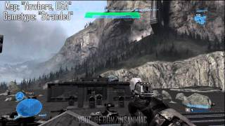 Halo Reach Infection Map -- Nowhere, USA Walkthrough