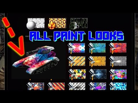 Tanki Online 23 New Paint From Containers | 23 новые краски в танках онлайн