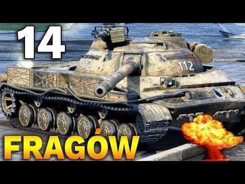 14 FRAGÓW NA X TIERZE !!! - Medal Bohaterów Rosieni - World of Tanks thumbnail