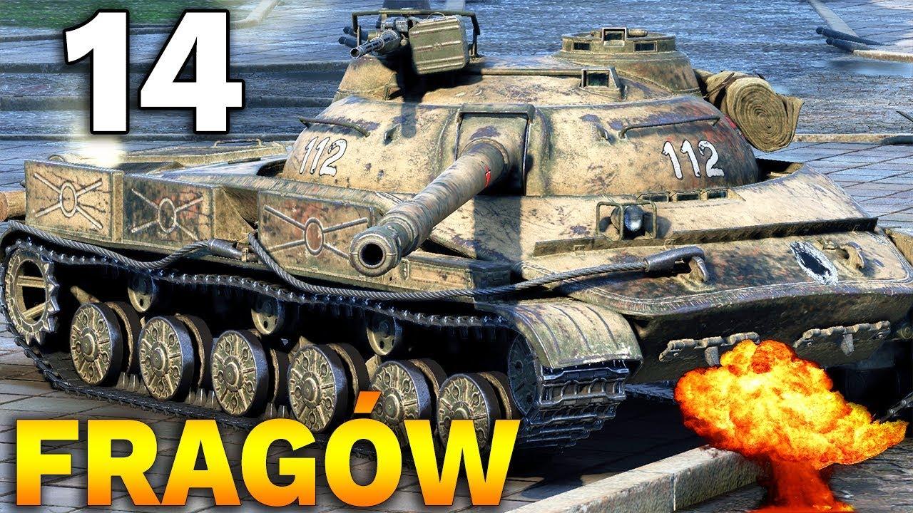 14 FRAGÓW NA X TIERZE !!! – Medal Bohaterów Rosieni – World of Tanks