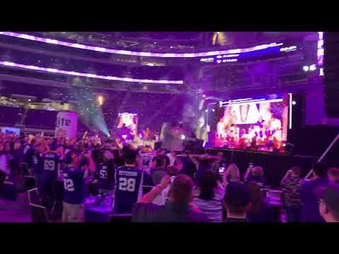 WATCH: Vikings Draft Party Reacts to Garrett Bradbury Draft Selection
