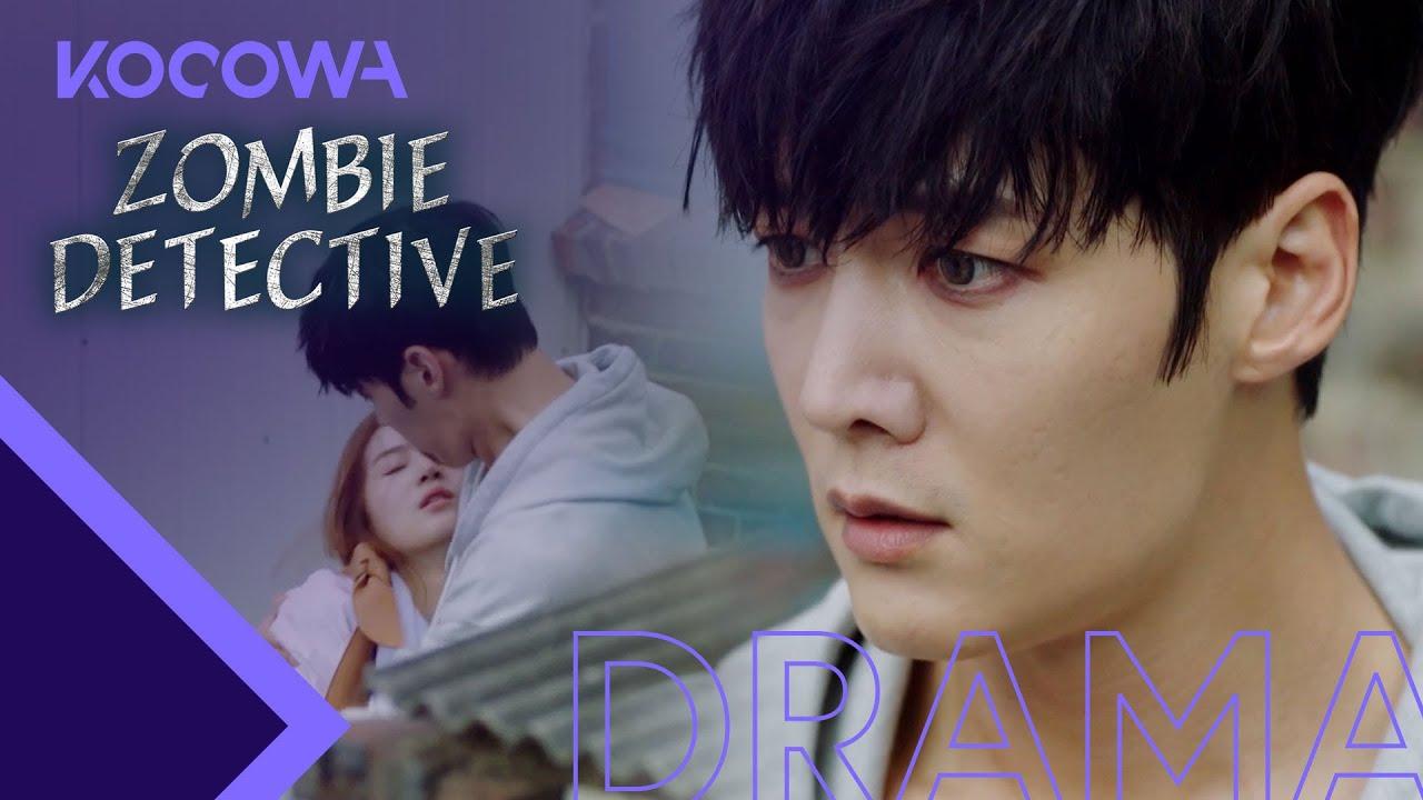 Download Choi Jin Hyuk hides Park Joo Hyun [Zombie Detective Ep 8]