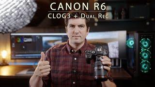 Canon R6 CLOG3 + Dual REC Firm…