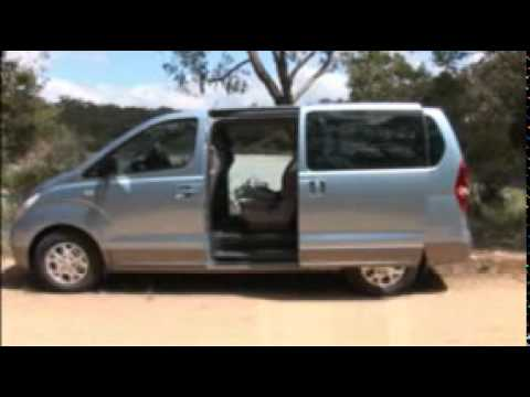Australia's Best Cars 2010 - Best People Mover - Hyundai iMax - YouTube