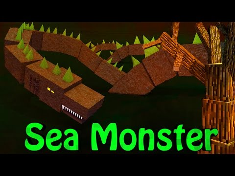 Minecraft   SEA MONSTERS Mod Showcase (Epic Oceans, Epic Sea Monsters, Loch Ness Monster)