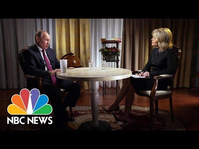 Confronting Russian President Vladimir Putin Part 2 Megyn Kelly Nbc News