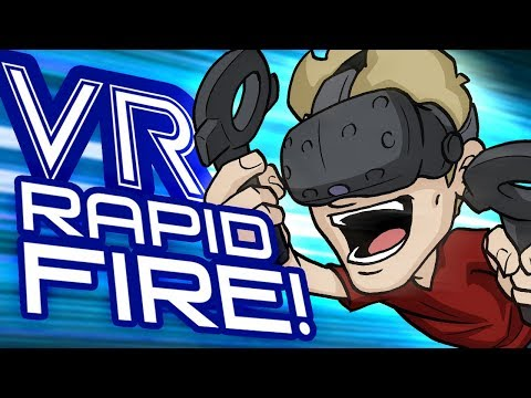 VR RAPID FIRE! - Game Building, Sculpting, Animating and MORE!