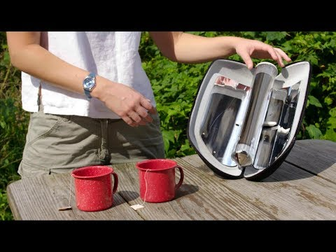 GoSun Go Boil Water and Cook Meals with Solar Power New Technology Tech World