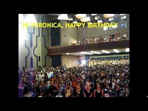 VERON 50TH BIRTHDAY greeting video