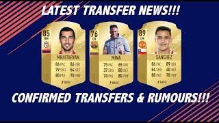 LATEST TRANSFER NEWS! TRANSFERS & RUMOURS - January transfer window 2018
