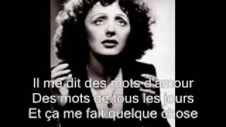 best of edith piaf playlist