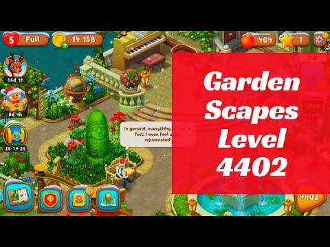 Gardenscapes Level 4402