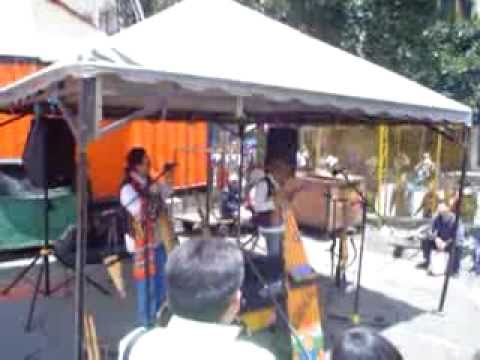 colombia flea market in bogota down town