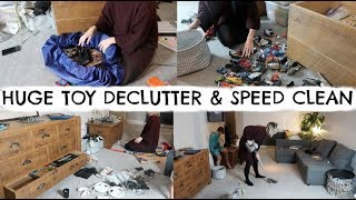 HUGE TOY DECLUTTER AND SPEED CLEAN | KON MARI ORGANISATION | KERRY WHELPDALE