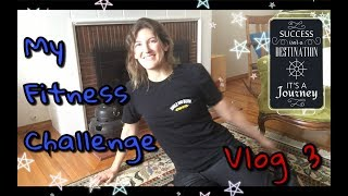 My Fitness Challenge Vlog 3! How strong I got in 2 weeks with minimal exercise | Kelsey_tube
