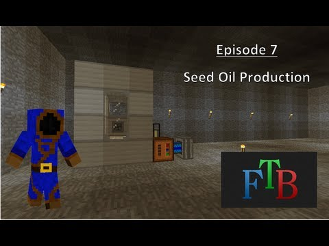Feed the Beast Episode 7: Seed Oil Production
