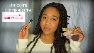 My Favorite Burts Bees Lip Products   EuniyceMari