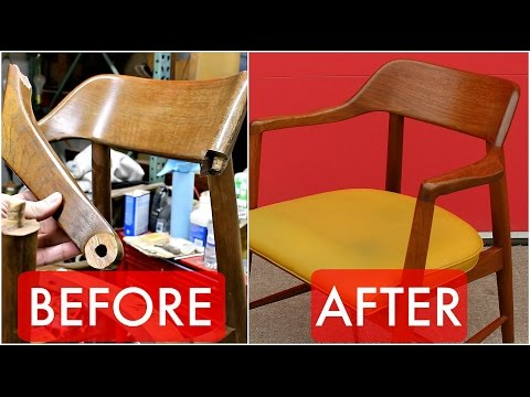 How to Refinish & Repair Mid Century and Other Vintage Furniture for Profit and Edification