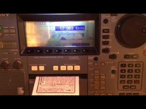 Sony CRF-V21 - WeFax from Kyodo News Agency Japan