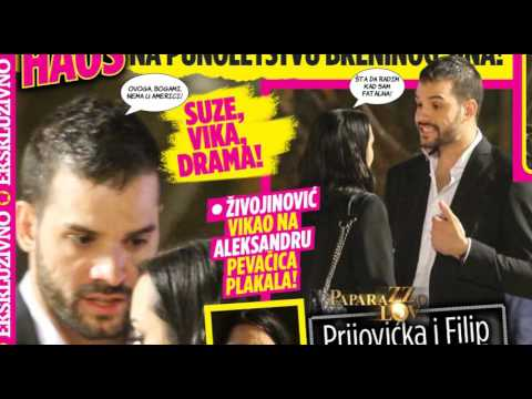 Skandal Prijovicke, Perucice i Filipa Zivojinovica