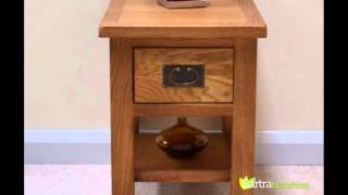 Sartra Beaufort Range - Lamp / End Table With Drawer