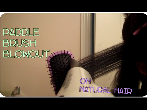 Detangling Natural Hair w/ Denman Paddle Brush from YouTube · Duration:  3 minutes 17 seconds