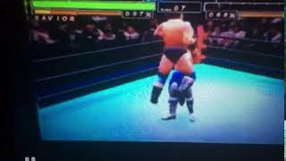 All Japan Prowrestling Featuring Virtua - Featuring Mode- Move Points 1810 - Muscle Buster Combo