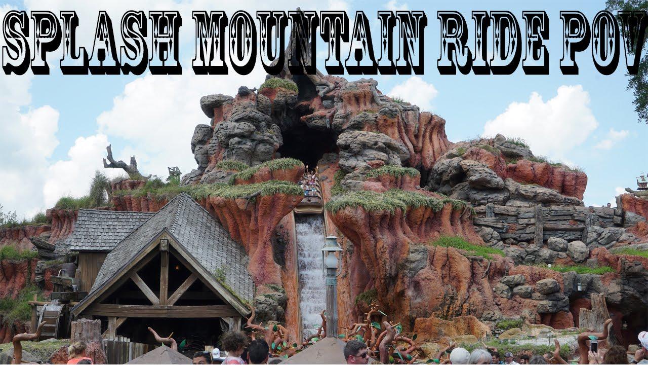 Disney World Rides Videos  Splash Mountain Full Ride Pov -6161